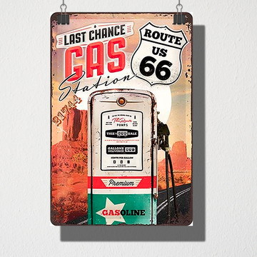 Poster A4 Gas 66