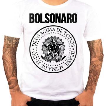 a4755724e Camiseta Queima de Estoque Bolsonaro Tamanho P
