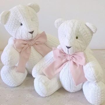 Dupla de ursos em tricot