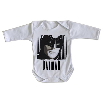 Body bebê roupa nenê Batman retro vintage anos 60