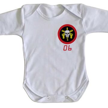 Body bebê roupa nenê BOPE 06 tropa de elite policia top