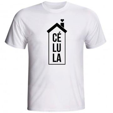 Camiseta Célula Jovens Cristã Evangélica Culto No Lar 03