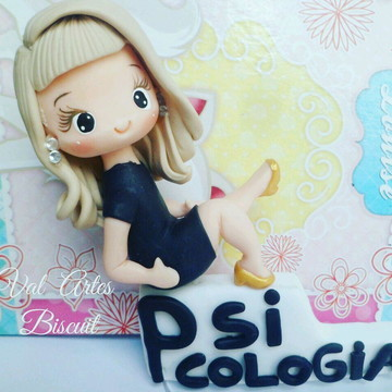 Boneca personalizada de psicólogia