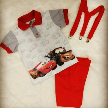 Blusa Polo Carros (somente a blusa)