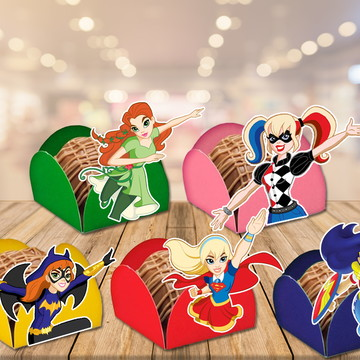 forminhas dc super hero girls