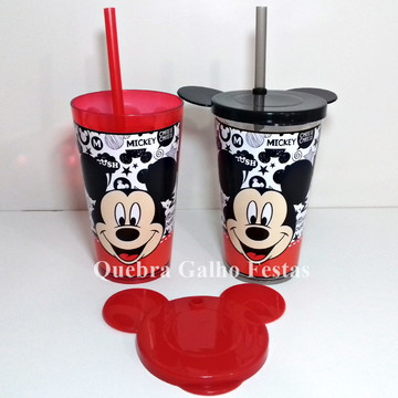 Copo Personalizado Mickey Tampa Orelha Mickey
