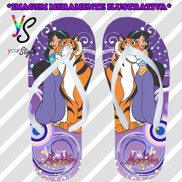 Chinelo Personalizado Aladdin