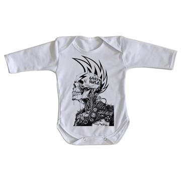 Body bebê roupa nenê Caveira guetto rules regras punk