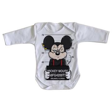 Body bebê roupa nenê Mickey mouse disney preso