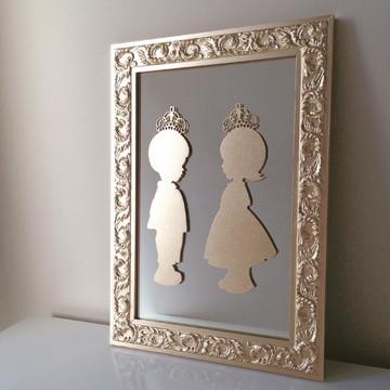 Porta de Maternidade Gêmeos e Espelho