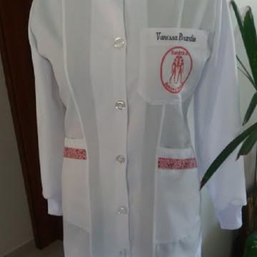 Jaleco em Gabardine - Estética Saúde & Beleza Tam. PP ao G