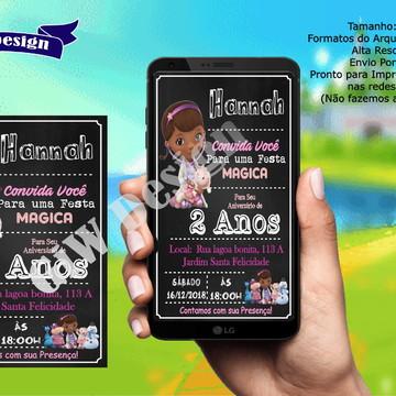 Convite Digital Whatssap Doutora Brinquedos