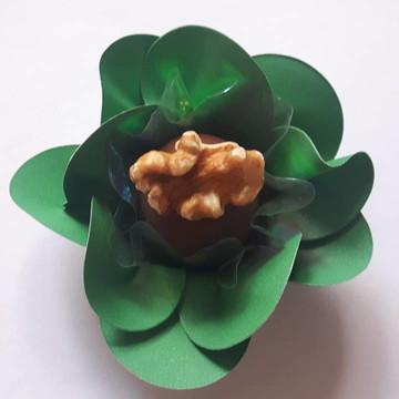 100 forminhas para doces finos Verde