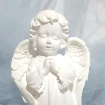 Anjos em Gesso sem pintura