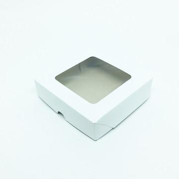 Caixa Visor Quadrado -15 x 15 x 4 cm - BR