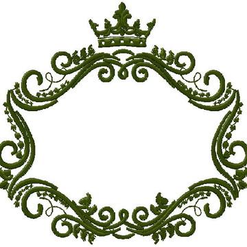 Matriz Moldura coroa 02