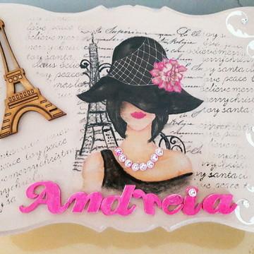 Caixa de Bijuterias Personalizada com o nome