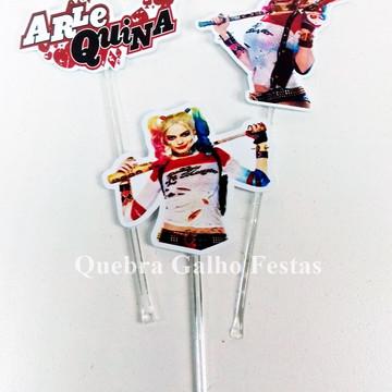 Topper doces Alerquina - Pct com 10