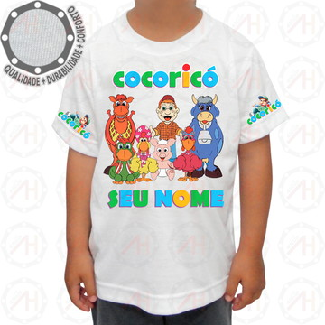 Camiseta Cocoricó Personagens