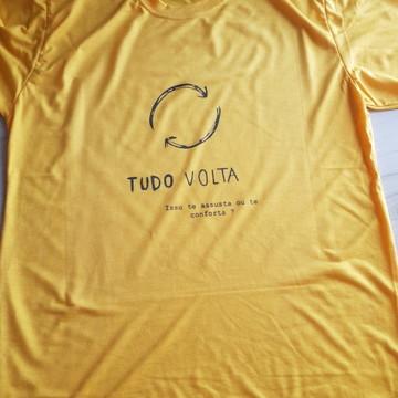 Camiseta Personalizada - Tudo Volta