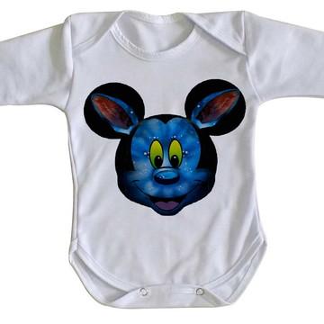 Body bebê roupa nenê Mickey mouse disney avatar