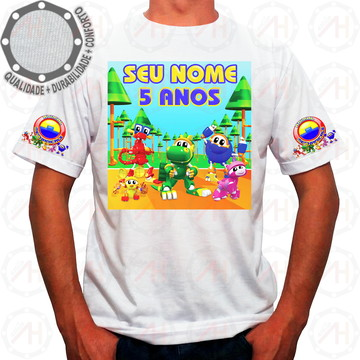 Camiseta Mecanimais Personagens Banner