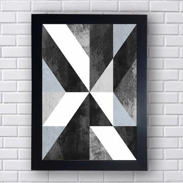 Quadro Poster Geométrico 1