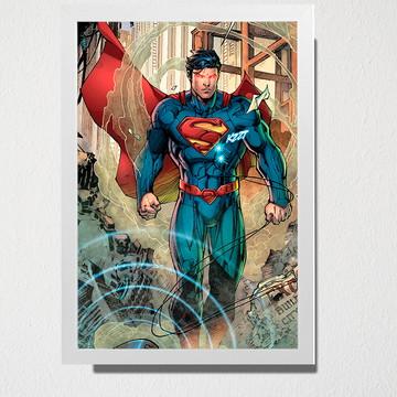 Quadro Superman fim do mundo