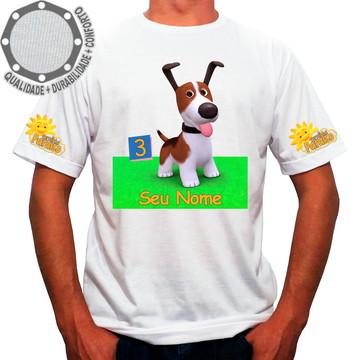 Camiseta Turminha Paraíso Cachorro