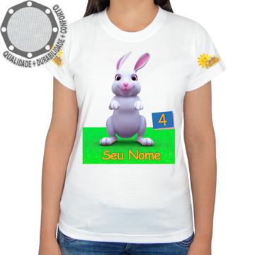Camiseta Turminha Paraíso Coelho