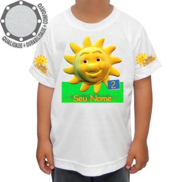 Camiseta Turminha Paraíso Sol