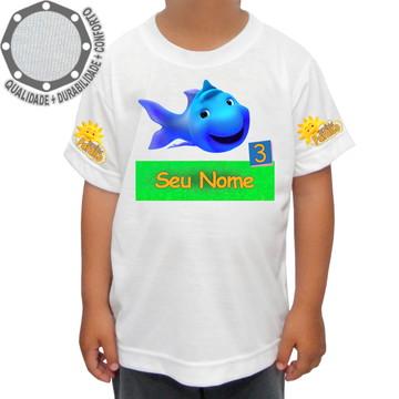 Camiseta Turminha Paraíso Peixe