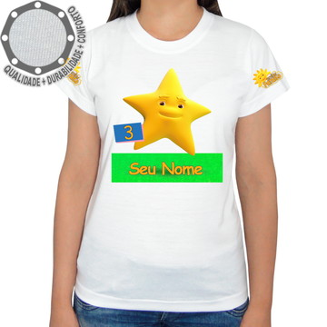 Camiseta Turminha Paraíso Estrela