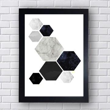 Quadro Poster Geometrico 2