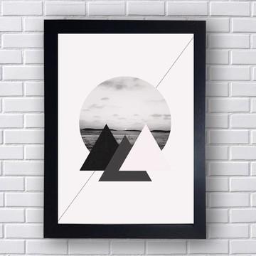 Quadro Poster Geometrico 4