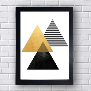 Quadro Poster Geometrico 6