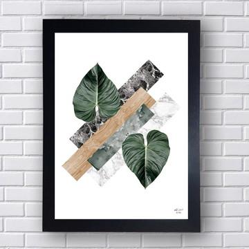 Quadro Poster Planta 1