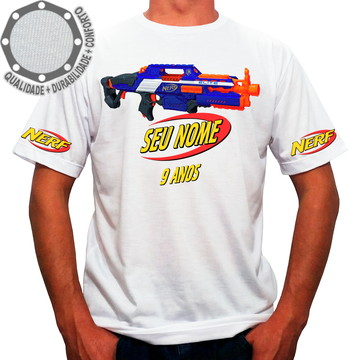 Camiseta Nerf Elite