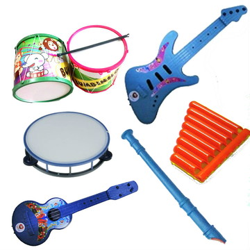 Kit Musical Infantil I -Educativo - 6 instrumentos