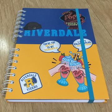 Caderno Organizador de Estudos - Riverdale