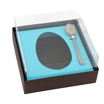 Caixa Ovo de Colher 100/150g Colorida Com Colher