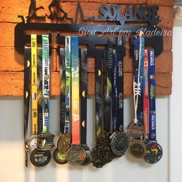 Porta Medalhas Personalizado Atletismo