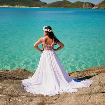 1509aff1a Vestido De Noiva Cauda Princesa