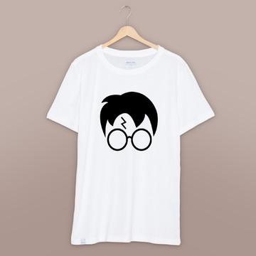 camiseta camisa adulto ou infantil harry potter face