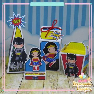 kit festa super herois