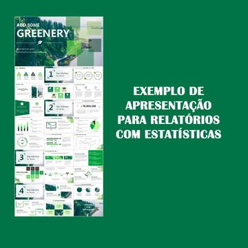 Apresentação para relatórios e estatísticas