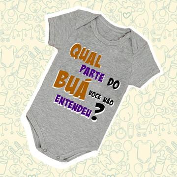Body Infantil Bebê Buá B215CZ