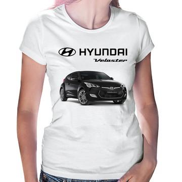 Baby Look Carro Hyundai Veloster Preto