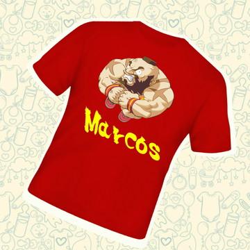 Camiseta Infantil Personalizada Zangief C225VM