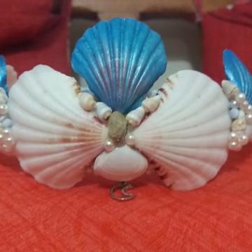 Coroa de conchas